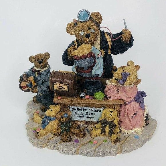 Boyds Bear Dr Stuffenstitch w/ Helpers Sewing  Fig